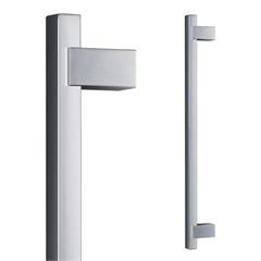 Puxador para Porta em Alumínio Concept Pca06 40cm Polido - Pado