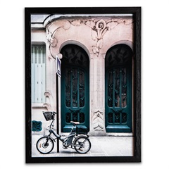 Quadro City Bike 39x29cm - Casa Etna