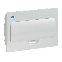 Quadro de Distribuição de Embutir 12 Disjuntores Branco - WEG