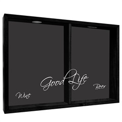 Quadro Duplo Porta Rolhas E Tampinhas Good Life 38x53cm - Kapos