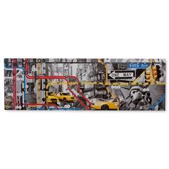 Quadro em Canvas Route New York 45x140cm - Casa Etna