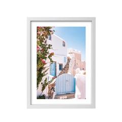 Quadro Impresso com Moldura Cidade 44x63cm - Casanova