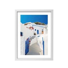 Quadro Impresso com Moldura Grécia 44x63cm