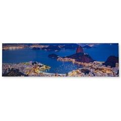 Quadro Rio de Janeiro 50x180cm - Casa Etna