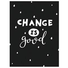 Quadro Telado Change Is Good 40x30cm - Casanova