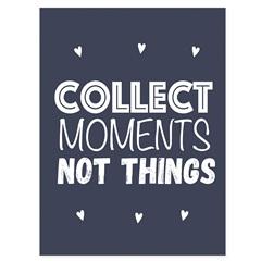 Quadro Telado Collect Moments 40x30cm Azul E Branco - Casanova