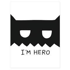 Quadro Telado I'M Hero 40x30cm - Casanova