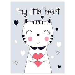 Quadro Telado My Little Heart 40x30cm - Casanova