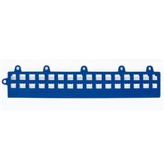 Rampinha para Estrado Flexível em Pvc 30x10cm Azul com 4 Peças - Impallets