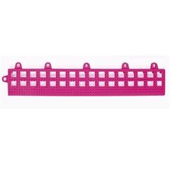 Rampinha para Estrado Flexível em Pvc 30x10cm Rosa com 4 Peças - Impallets