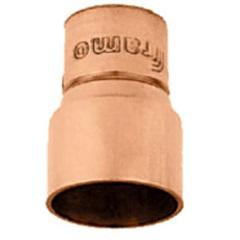 Redução em Cobre com Solda Ponta 28mm X Bolsa Interna 15mm - Ramo Conexões
