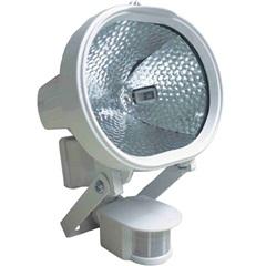 Refletor Halógeno 500w Bivolt com Sensor de Presença Branco - Key West