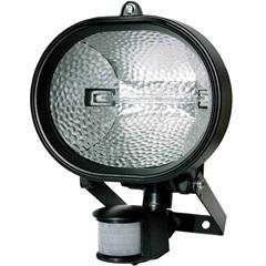 Refletor Halógeno com Sensor de Presença 500w Bivolt Preto - Key West