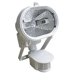 Refletor para 1 Lâmpada com Sensor de Presença 150w Bivolt Branco - Key West