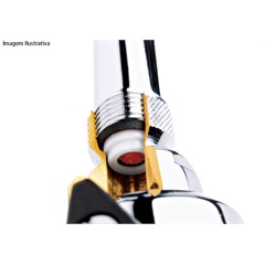 Regulador de Vazão para Chuveiro 15 Litros Cromado Ref.: 2175 - Fabrimar