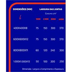 Rejunte Acrilico 1kg Cedro Fortaleza - Fortaleza