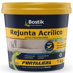 Rejunte Acrilico 1kg Creme Fortaleza - Fortaleza