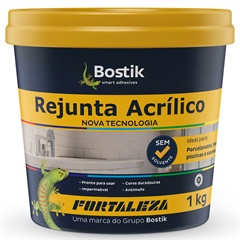 Rejunte Acrilico 1kg Ebano Fortaleza - Fortaleza