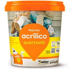 Rejunte Acrílico Bege 1kg - Quartzolit