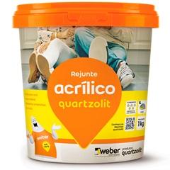 Rejunte Acrílico Cinza Ártico 1kg - Quartzolit