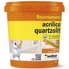 Rejunte Acrílico Palha 1kg - Quartzolit
