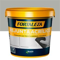 Rejunte Acrílico para Porcelanato 1kg Cinza - Usina Fortaleza