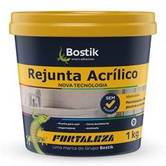 Rejunte Acrílico Platina 1kg - Fortaleza