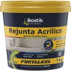 Rejunte Acrílico Preto 1kg - Fortaleza