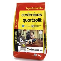 Rejunte Aditivado Flexível Preto 5kg - Quartzolit