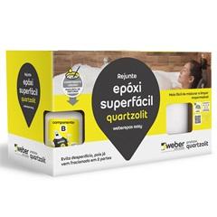 Rejunte Epóxi Superfácil Bege 1kg - Quartzolit