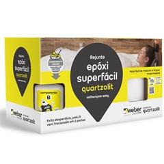 Rejunte Epóxi Superfácil Branco 1kg - Quartzolit