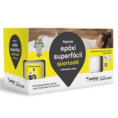 Rejunte Epóxi Superfácil Corda 1kg - Quartzolit