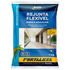 Rejunte Flexível 1mm a 16mm 1kg Bege - Usina Fortaleza