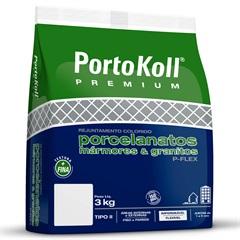 Rejunte Flexível E Impermeável P-Flex Argila 3kg - Portokoll