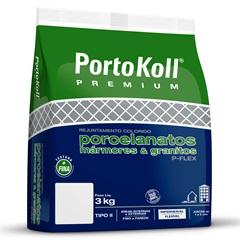 Rejunte Flexível E Impermeável P-Flex Caqui 3kg - Portokoll