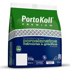 Rejunte Flexível E Impermeável P-Flex Caramelo 3kg - Portokoll