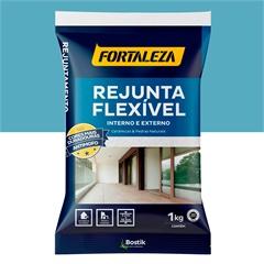 Rejunte Flexível para Pisos E Azulejos Azul Claro 1kg - Fortaleza