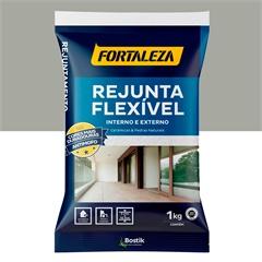 Rejunte Flexível para Pisos E Azulejos Cinza 1kg - Fortaleza
