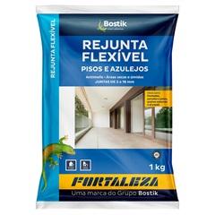 Rejunte Flexível para Pisos E Azulejos Marrom Terra 1kg - Fortaleza