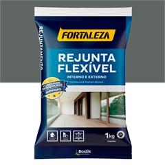 Rejunte Flexível para Pisos E Azulejos Platina 1kg - Fortaleza