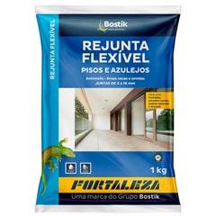 Rejunte Flexível para Pisos E Azulejos Preto 1kg - Fortaleza