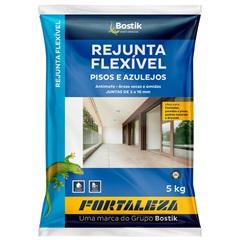 Rejunte Flexível para Pisos E Azulejos Preto 5kg - Fortaleza