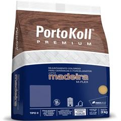 Rejunte para Cerâmicas E Porcelanatos Madeira M-Flex Ébano 3kg - Portokoll