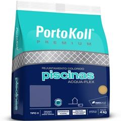 Rejunte para Piscina Acqua Flex Up Azul Cobalto 4kg - Portokoll
