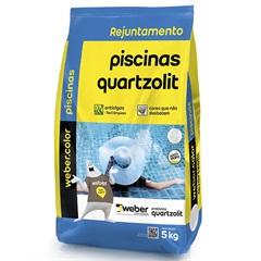 Rejunte para Piscina Azul Celeste 5kg - Quartzolit