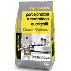 Rejunte para Porcelanatos E Cerâmicas Cidra 5kg - Quartzolit