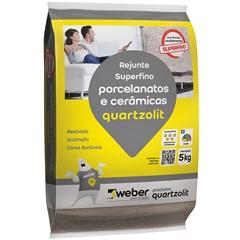 Rejunte para Porcelanatos E Cerâmicas Corda 5kg - Quartzolit