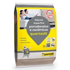 Rejunte para Porcelanatos E Cerâmicas Palha 5kg - Quartzolit