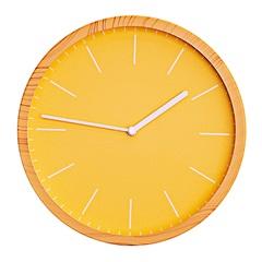 Relógio de Parede Fit 25cm Amarelo - Casa Etna