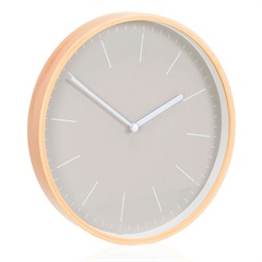 Relógio de Parede Fit 25cm Cinza - Casa Etna
